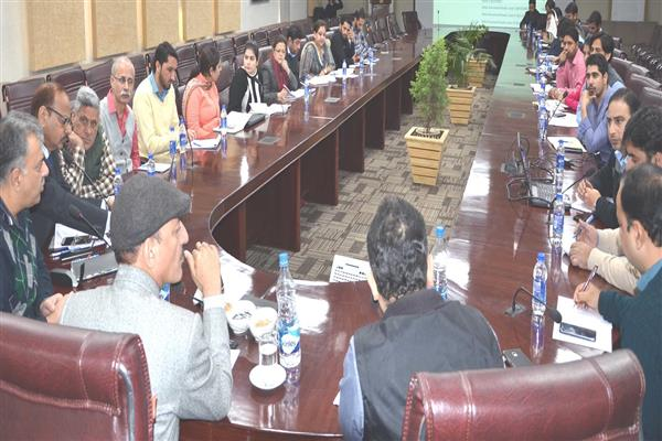 Abdul Haq interacts with newly appointed BPMs under SRLM