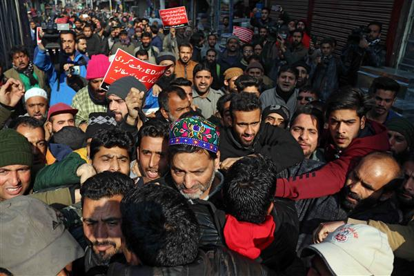 JKLF Chief, others arrested during protest in Srinagar