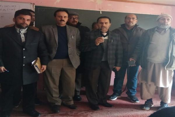 Dir Edu tours Uri, interacts with students, teachers, parents