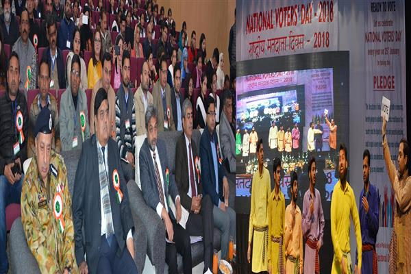 Chief Secretary participates in 8th National Voters Day celebrations