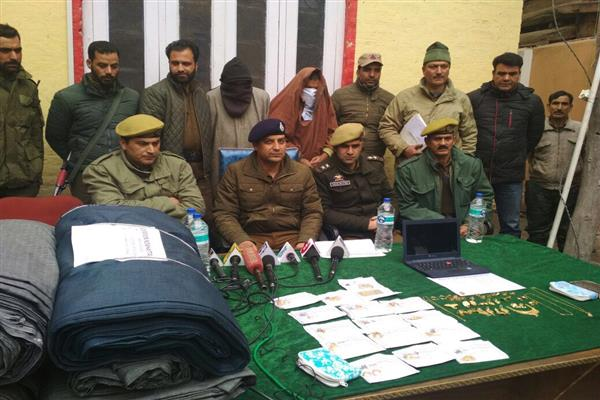 Nowhatta Police recovered stolen property worth lakhs of rupees
