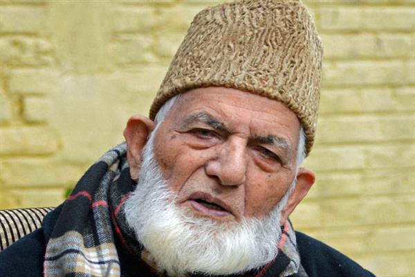 State sponsored tactics won't deter us from pursuing our mission: Geelani