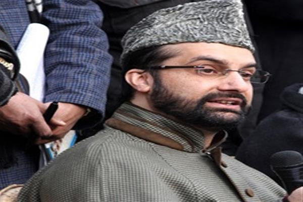 Mirwaiz placed under house detention