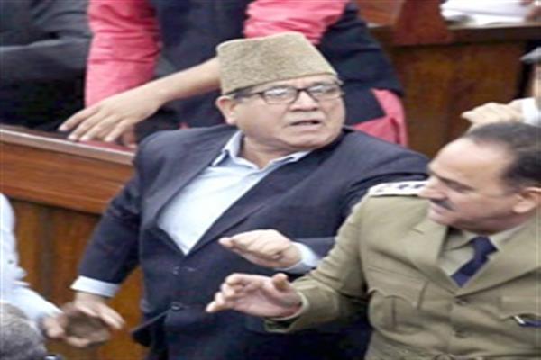 Speaker disallows NC's demand for debate on JK Bank's NPA's, backdoor appointments