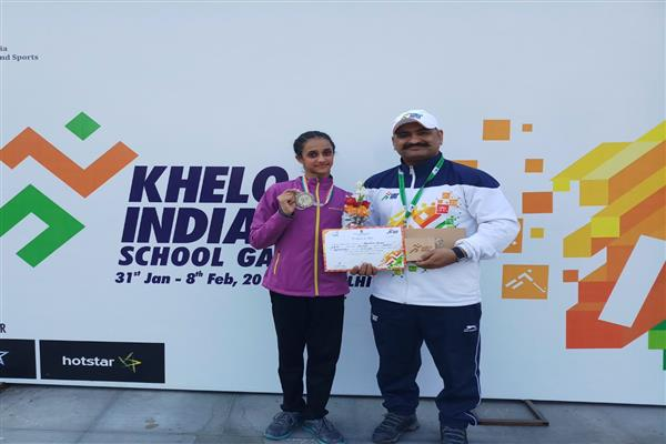 JK clinches 2 medals in Khelo India so far