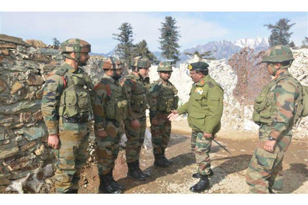 Vice Chief Army reviews security in Valley