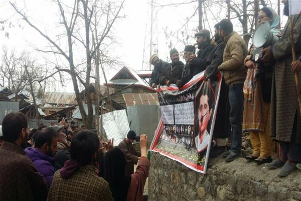 Maqbool Butt remembered across globe: Yasin Malik