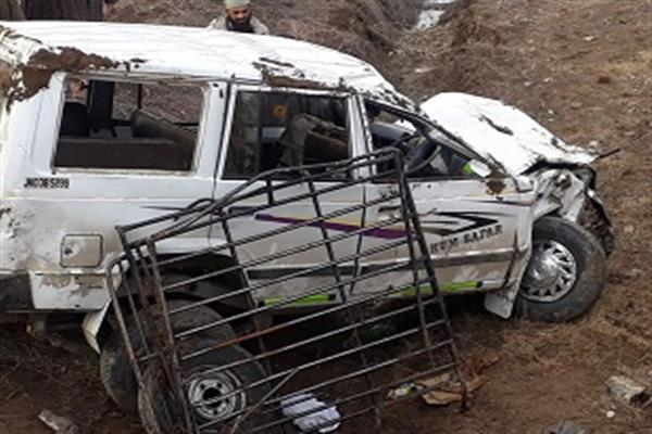 Seven women among eleven injured in Achabal road mishap