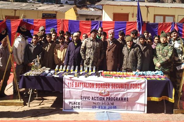 BSF organizes civic action programme at Nowgam