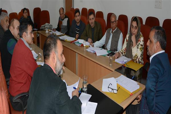 Calibrating Categorization Criteria:Director Information chairs meeting of official panel