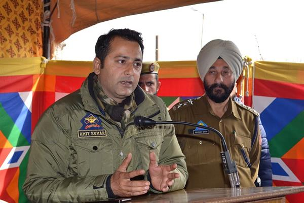 DIG SKR chairs Police public meetings, Inaugurates Police Station,