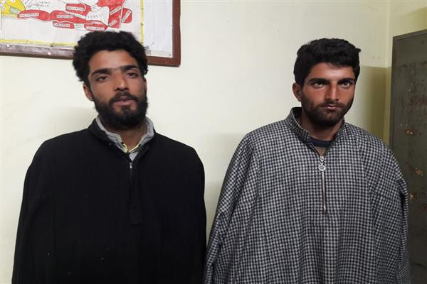 Two drug peddlers arrested in Handwara