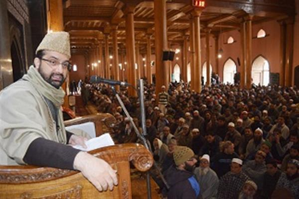 Kunan Poshpora mass rape was used as war weapon by forces: Mirwaiz