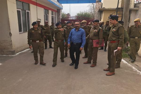 DG Prisons visits District jail Poonch