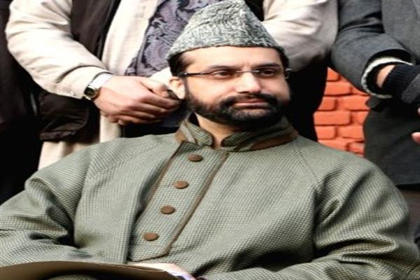 Hurriyat (M) condemns house detention of Mirwaiz