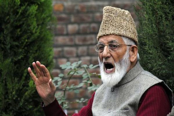 Geelani again rejects Dineshwar Sharma's talks offer