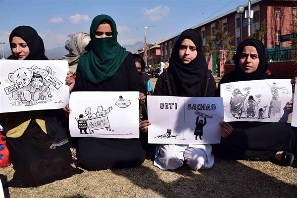 Kathua Rape and Murder case: People in JK demand justice