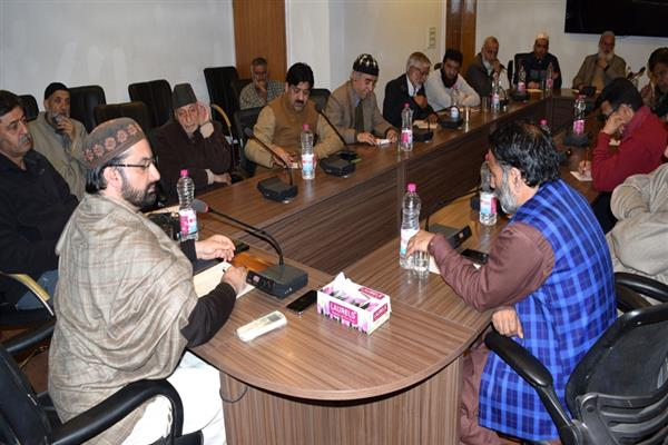 Hurriyat (M) holds executive, general council meeting