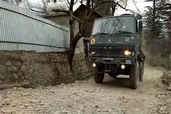 Encounter between militants, security forces in Jammu and Kashmir's Kupwara