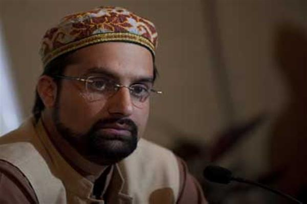 Once again people and the leadership were barred from offering Friday prayers, says Mirwaiz