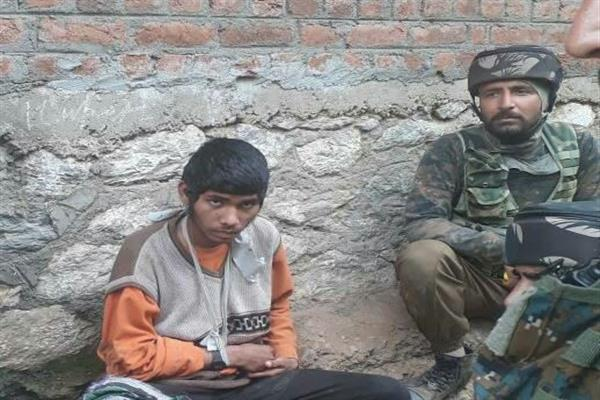 Militant injured last month arrested