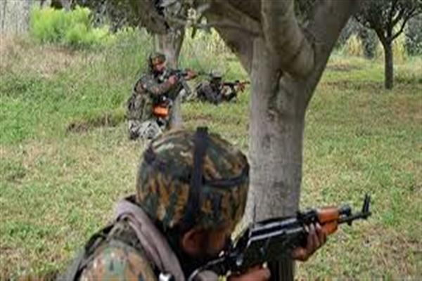 Gunfight erupts in Kangan area of Pulwama