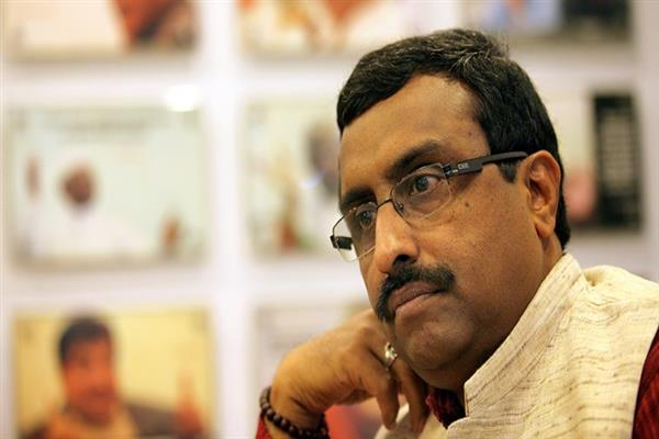 No threat to PDP-BJP alliance, says Ram Madhav