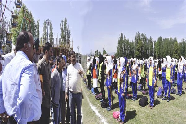 Girls football tourney under 'Lets Play football' begins in Bla