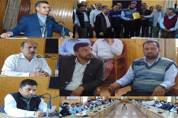 Sectional Officer CEO Office Baramulla superannuates from service