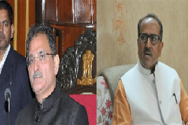 BJP's Nirmal Singh resigns as J&K deputy chief minister