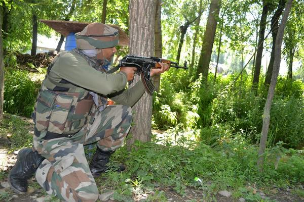 Security force kills two Hizbul Mujahideen terrorists in encounter at Pulwama district