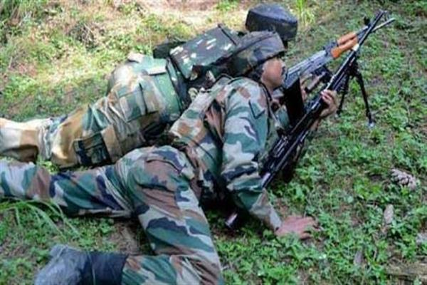 Militants Fired Upon 42 RR Patrolling Party In J-k's Tral