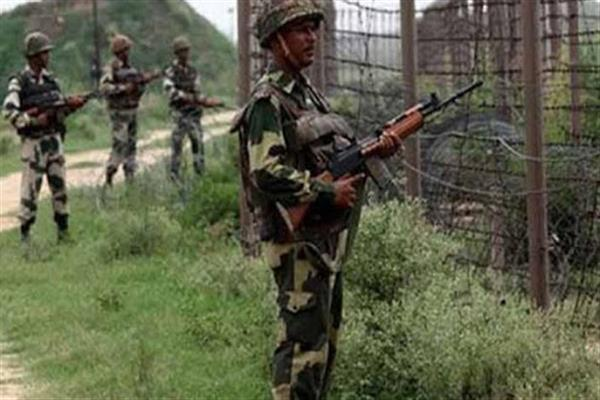 Pakistan violates ceasefire in J&K, BSF jawan killed