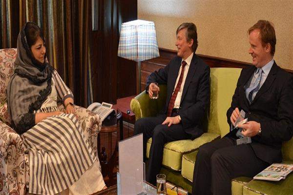 Belgian Ambassador calls on Chief Minister