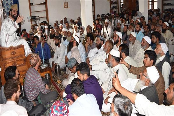 Ramadhan is full of blessings; says Mirwaiz