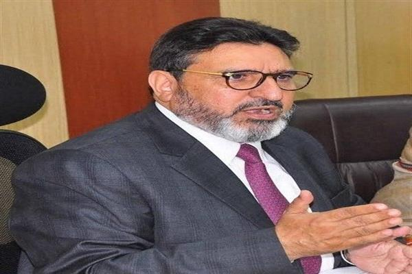Agriculture employees Asstn meet Altaf Bukhari