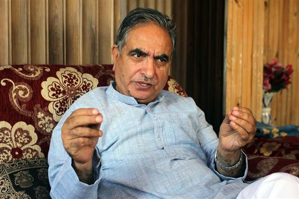 G H Mir welcomes HM's statement on talks with Hurriyat