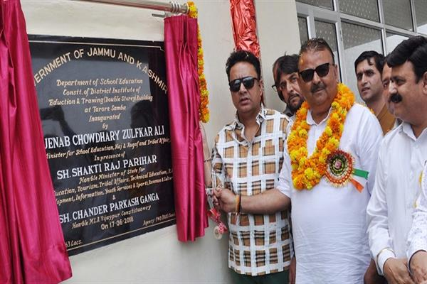 Zulfkar for strengthening elementary education in JK