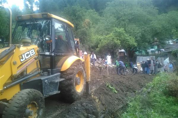 Encroachment eviction drive on Mohura to upper Mohura in Uri