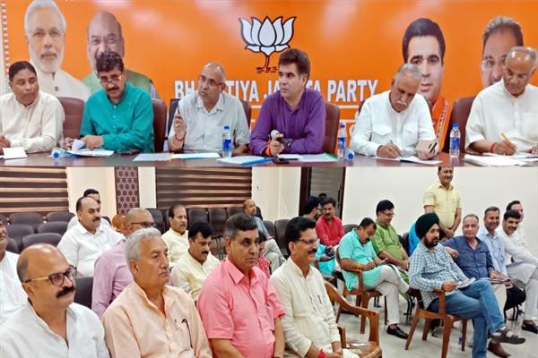 J&K BJP constitutes new team