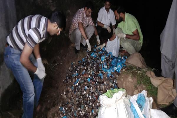 Medicines worth Rs 5 lakh allotted to hospital recovered in Tangmarg forest
