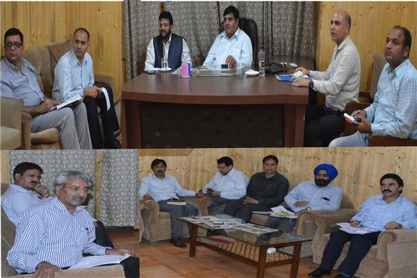 Advisor Vyas for speedy expansion of Srinagar drainage network