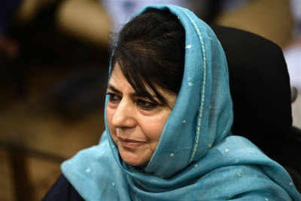 Mehbooba pays glowing tributes to Vajpayee