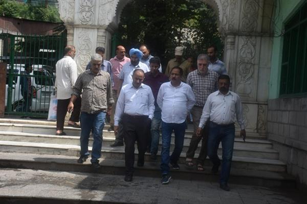 Commissioner SMC tours city shrines, other areas ahead of Eid-ul-Adha