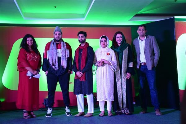Popular singer-rapper, Badshah, launches Mirchi 98.3 in Kashmir