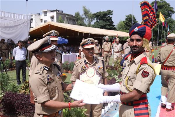 215 police recruits pass out from PTTI Vijaypur