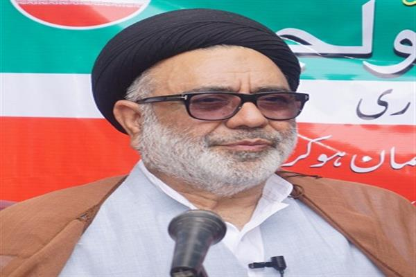 Aga Syed Hasan expresses grief over demise of Syed Javaid Hamdani
