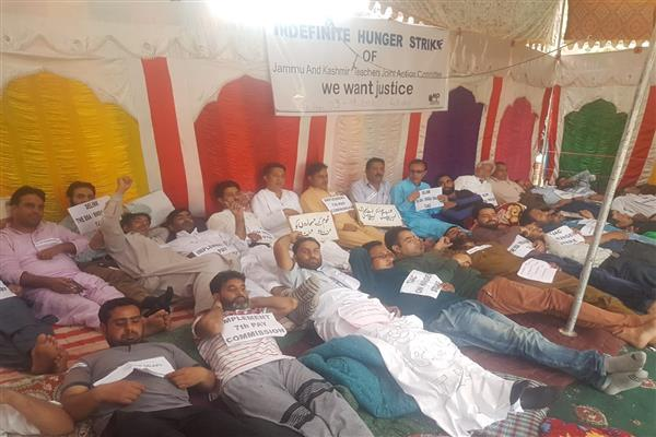 Hunger strike leaves condition of many teachers critical