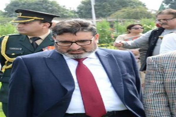 Altaf Bukhari grieved over demise of Gh. Abbas Khan