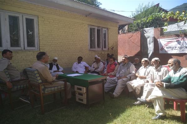 PCPG meeting held at Taad Karnah